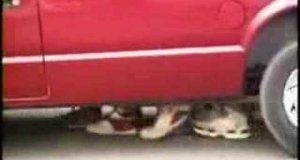 Ukryta kamera - samochód widmo