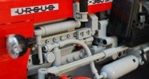 Działający traktor z klocków Lego