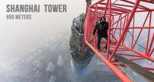 Wspinaczka na Shanghai Tower