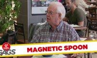 Ukryta kamera - magnes w restauracji