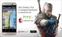 Głos Geralta w nawigacji samochodowej