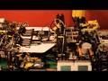 Maszyna z LEGO do robienia samolotów z papieru