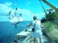 Problemy z wodowaniem jachtu