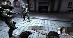 Dziewczyna w Counter Strike