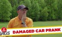 Ukryta kamera - niezdarny gracz w golfa