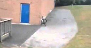 Mistrzowskie parkowanie roweru