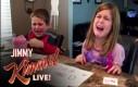 Reakcja dzieci na zjedzone cukierki