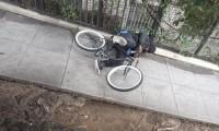 Pomysłowe zabezpieczenie roweru