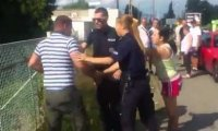Polska policja vs rowerzysta