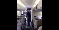 Tańcząca stewardessa