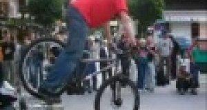 Jazda rowerem po żyłce