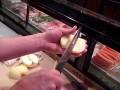 Profesjonalne obieranie jabłka