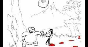 Kung Fu Bear vs U-Liu-Liu Kang