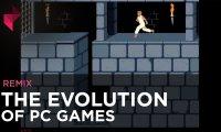Ewolucja gier komputerowych.