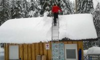 Odśnieżanie dachu w kilkadziesiąt sekund