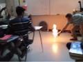 Ogień na lekcji chemii