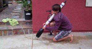 Broń wodna niebezpieczna dla strzelca