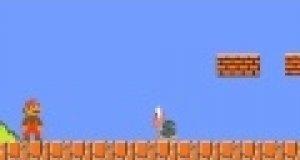 Żółw z Mario zjada gwiazdkę
