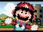 Mario niszczyciel zamku.