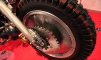 Polski motor w stylu steampunk