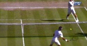 Roger Federer - 10 zagrań