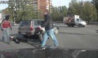 Motocyklista vs kierowca samochodu
