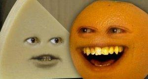 Nieznośna pomarańcza - ser