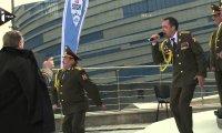 Chórek z Soczi śpiewa