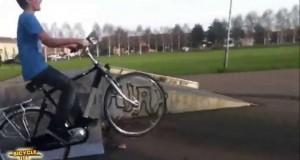 Kompilacja wypadków z rowerami - MonthlyFails