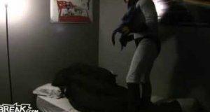 Batman przestraszył Robina