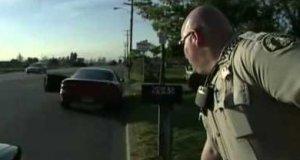 Rutynowa kontrola policji
