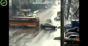Kompilacja rosyjskich wypadków samochodowych | TNL 2012