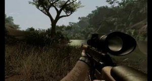 Kominek gra w Far Cry 2