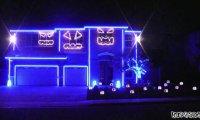 Halloweenowy pokaz świateł 2011