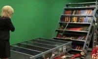 Ukryta kamera - wypadek w bibliotece