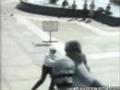 Atak gołębia
