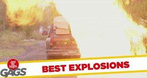 Najlepsze ukryte kamery z wybuchami