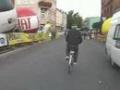 Finish wyścigu kolarskiego