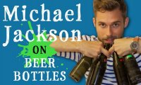 Kawałek Michaela Jacksona grany na butelkach