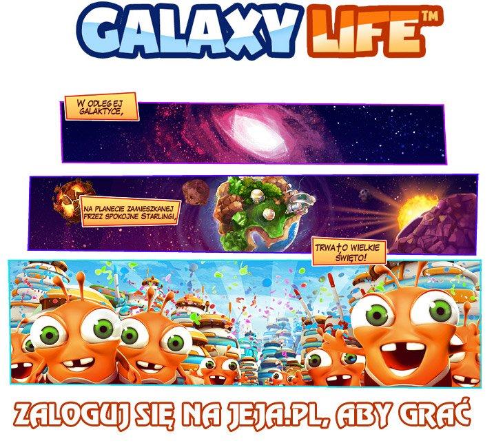 Rejestracja, aby grać w Galaxy Life