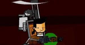 Jakub w helikopterze