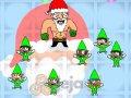 Mikołaj rozdaje klapsy