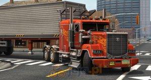 Parkowanie amerykańską ciężarówką