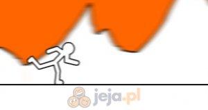 Pomarańczowy bieg