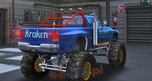 Monster truck: Trójwymiarowe parkowanie