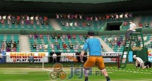 Tenis na korcie centralnym