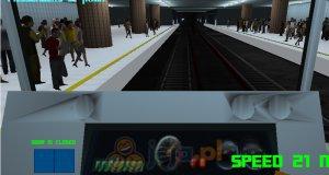 Symulator jazdy metrem