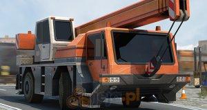 Trójwymiarowe parkowanie: Dźwig