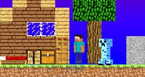 Kreator scen z Minecrafta