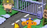 Szczęśliwa małpka: Baza wojskowa